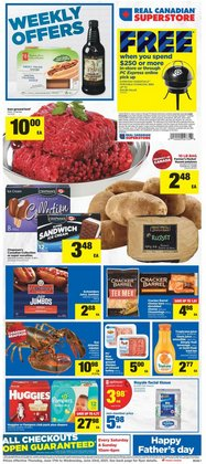 Real Canadian Superstore catalogue ( Expires today)