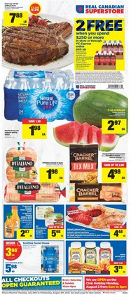Grocery deals in the Real Canadian Superstore catalogue ( Expires tomorrow)