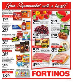 Fortinos deals in the Toronto flyer