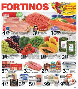 Grocery offers in the Fortinos catalogue in Toronto ( 3 days left )