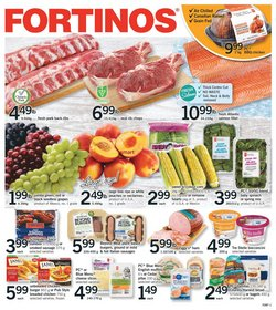 Grocery deals in the Fortinos catalogue ( Expires today)