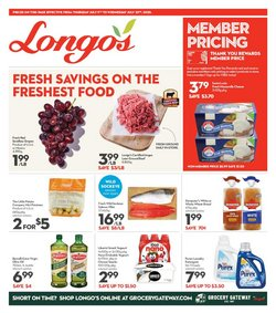 Longo's catalogue ( 7 days left )