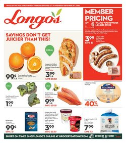 Thanksgiving deals in the Longo's catalogue ( 4 days left)