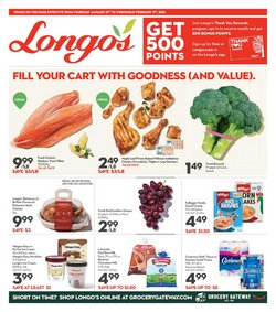 Longo's catalogue ( 9 days left )