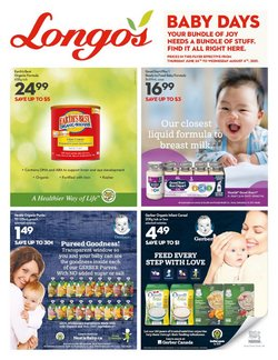 Longo's deals in the Longo's catalogue ( Expired)