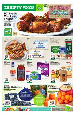 Thrifty Foods deals in the Victoria BC flyer