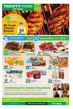 Thrifty Foods catalogue ( Published today )