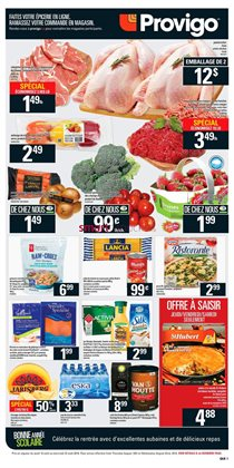 Provigo deals in the Rouyn-Noranda flyer