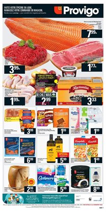 Provigo deals in the Quebec flyer