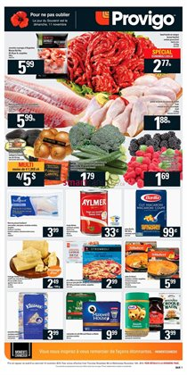 Grocery offers in the Provigo catalogue in Rouyn-Noranda