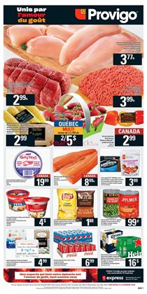 Grocery offers in the Provigo catalogue in Saint-Hyacinthe