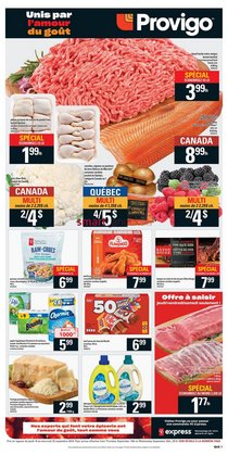 Grocery offers in the Provigo catalogue in Granby