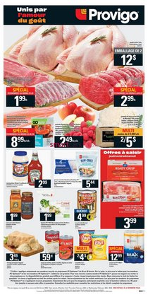 Grocery offers in the Provigo catalogue in Granby ( 3 days left )