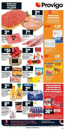 Provigo catalogue ( 3 days left )