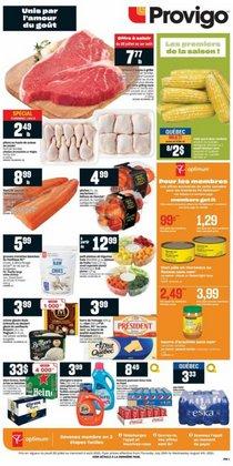 Grocery deals in the Provigo catalogue ( Expires tomorrow)