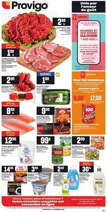 Provigo deals in the Provigo catalogue ( Expires today)