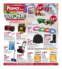 Peavey Mart deals in the Edmonton flyer