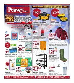 Peavey Mart catalogue in Prince George ( Expires today )