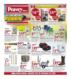 Peavey Mart catalogue in Edmonton ( 3 days ago )