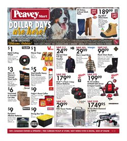 Peavey Mart catalogue ( 3 days left )