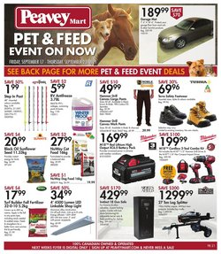 Clothing, Shoes & Accessories deals in the Peavey Mart catalogue ( 1 day ago)