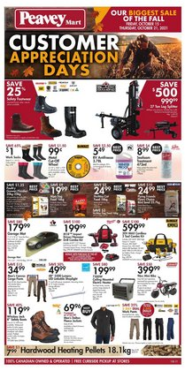 Clothing, Shoes & Accessories deals in the Peavey Mart catalogue ( 2 days left)