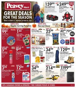 Peavey Mart catalogue ( 3 days left)