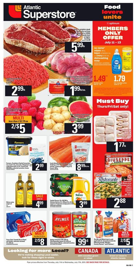 atlantic superstore in charlottetown weekly circulaires \u0026 flyersopen flyer