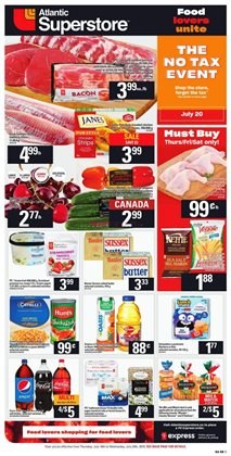 Atlantic Superstore deals in the Fredericton flyer