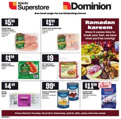 Atlantic Superstore catalogue in St. John's ( 9 days left )