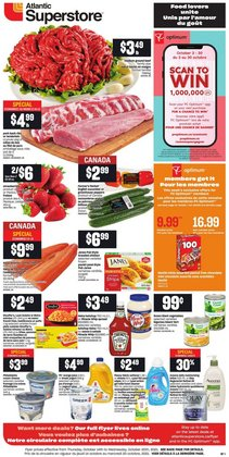 Grocery deals in the Atlantic Superstore catalogue ( Expires tomorrow)