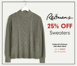 Reitmans catalogue ( 15 days left)
