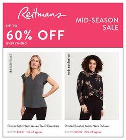 Reitmans catalogue ( 20 days left)