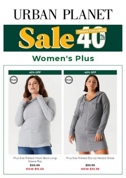 Clothing, Shoes & Accessories deals in the Urban Planet catalogue ( Published today)