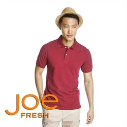 Clothing, shoes & accessories offers in the Joe Fresh catalogue in Sudbury