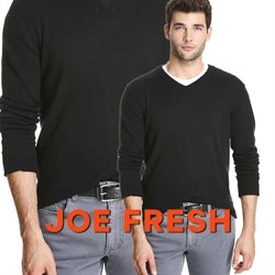 Clothing, shoes & accessories offers in the Joe Fresh catalogue in Toronto