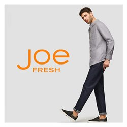 Clothing, shoes & accessories offers in the Joe Fresh catalogue in Montreal