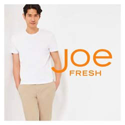 Clothing, Shoes & Accessories offers in the Joe Fresh catalogue in Montreal ( More than a month )
