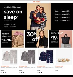 Joe Fresh catalogue ( Expires today )