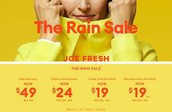 Joe Fresh catalogue ( Expired )