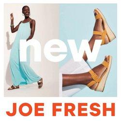 Joe Fresh deals in the Joe Fresh catalogue ( Expires today)