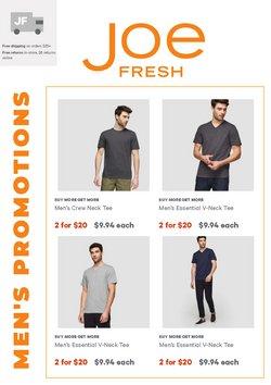 Joe Fresh catalogue ( 13 days left)