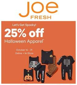 Joe Fresh deals in the Joe Fresh catalogue ( 12 days left)