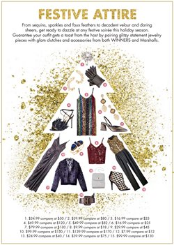 Clothing, shoes & accessories offers in the Winners catalogue in Joliette