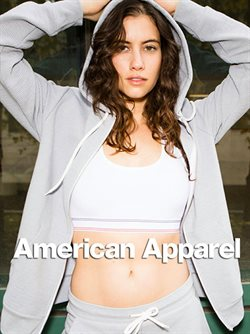 American Apparel deals in the Toronto flyer