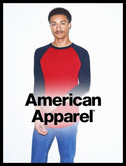 American Apparel catalogue ( More than a month )