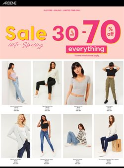Clothing, Shoes & Accessories offers in the Ardene catalogue ( 2 days ago )