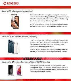 Rogers catalogue ( More than a month )