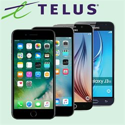 Telus deals in the Toronto flyer