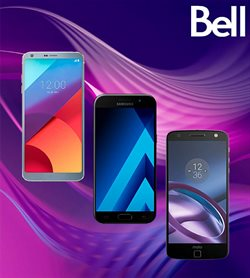 Bell deals in the Montreal flyer
